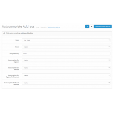 Autocomplete Address