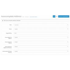 Autocomplete Address